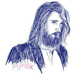 Portrait of Ben Dahlhaus by pumbank