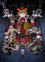 Binding of Isaac: Afterbirth [ALL BOSSES] COMPLETE by jaego17
