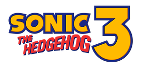 Sonic The Hedgehog 3 Modern Edition Logo by NuryRush