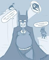 Batman thing to say by Phewcumber