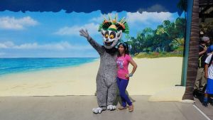 King Julien and I strike a pose in USH 1 by Magic-Kristina-KW