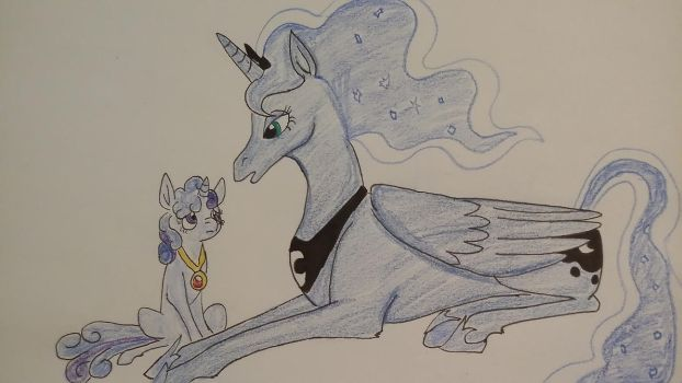 Luna and Moonlight by XfangheartX