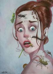 Insects by AlexLandish