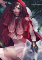 Red Riding Hood by Toshia-san