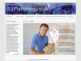 Plasterer Website by datamouse