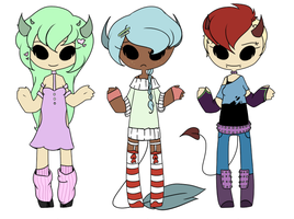 Demon Lady Adopts by spacecaptainadopts