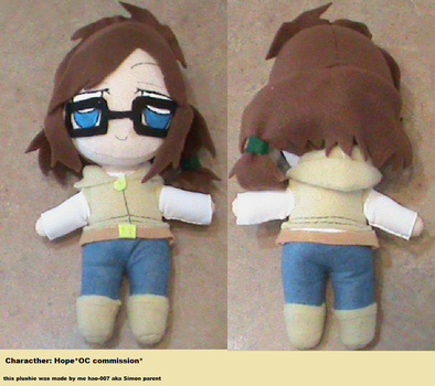 Hope plushie by Hao-007