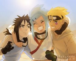 Naruto FC - Gift - Team by WitchyNade