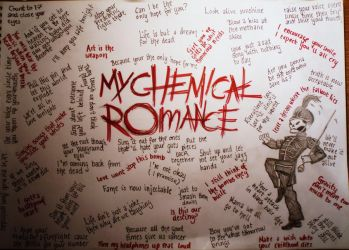 My Chemical Romance Lyrics by XbLaCkXaNdXrEdX