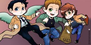 Supernatural Chibi Compilation by PredieNerdie