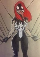 Venom Mj by diabolik0