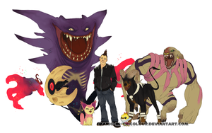 Even more fun with Pokemon by manic-in-tricolour