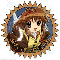 Ayu Seal of Approval by SquallEC
