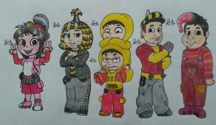 Thomas And Friends Humanized Side Characters No 1 By Pillothestar
