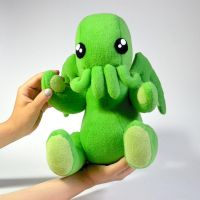 Big cuddly Cthulhu says hello! by falauke