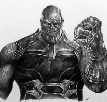 Thanos by MattWArt
