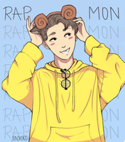 Pastel Rap Monster by Jinxiko