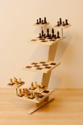 3D Chess Set by gmjhowe