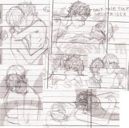 DaveKat sketchdump by HeyitsKeating