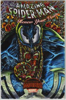 VENOM ASM RYV SKETCH COVER COLORS by ChrisMcJunkin