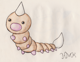 Weedle by Shabou