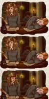 The Brightest Witch and The King by upthehillart
