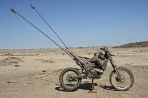 Mad Max Fury Road - tumor bike by deafmusic