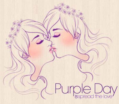 Purple Day: Spread the love by bw-inc