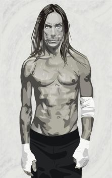 Iggy Pop by Puchalt