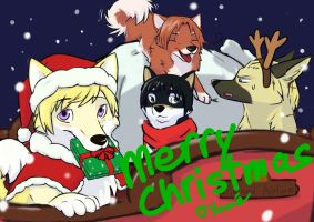 Dogtalia Christmas by PurplePandog