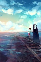 Spirited Away- To Sixth Station by c-dra
