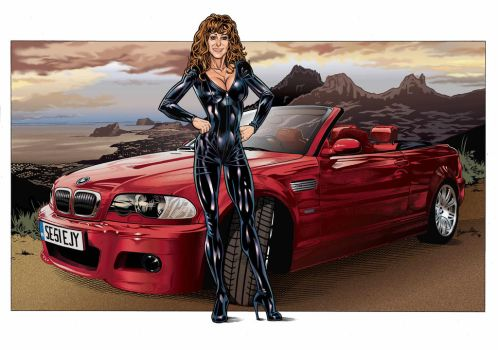 Jac Barnett and her M3 by Bambs79