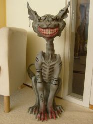 The Cheshire Cat Statue by Niraven