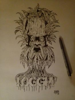 Logghy-thePlantFace by EddieVerso
