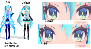 MMD miku TDA edit DOWNLOAD by trufflesth