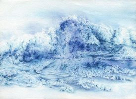 The Giant Wave by SalHunter