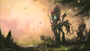 The Ancients of Growth by Huussii