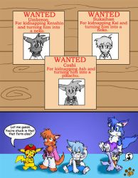 Wanted Posters by Coshi-Dragonite