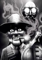 The Ventriloquist and Scarface by Fuacka