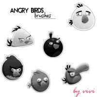 angry birds brushes by chocoholic01
