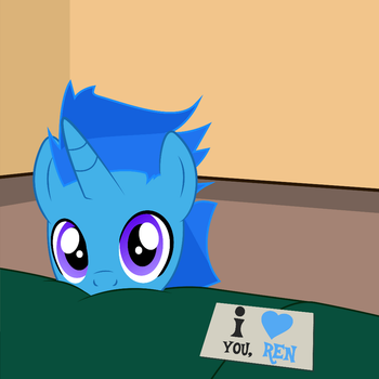 Something to say about somepony i love... by DeployerfullGeek