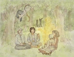 The Whispering Picnic by ErinPtah