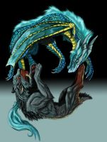 Transformation Dragon to Beast by Tidma