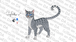 Jayfeather Design Reference by SavannaEGoth