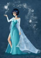 Rukia - The Snow Queen by Mariart89