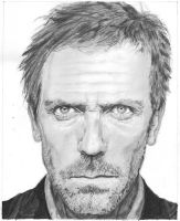 Hugh Laurie-House M.D. by bclara88
