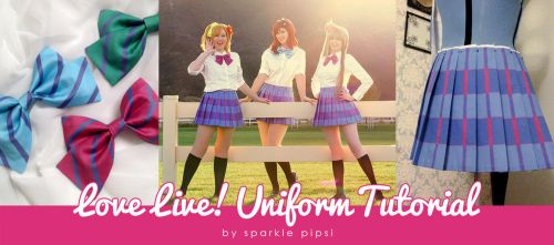 Love Live! Skirt Tutorial by SparklePipsi