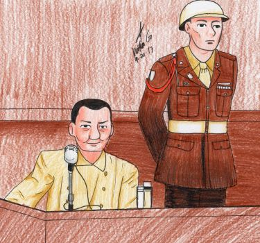 Hermann Goering's Trial by MatthewGo707