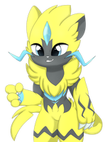Zeraora by Cookie-Kit