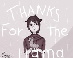 Thanks For The Llama by kurage-blog-owo